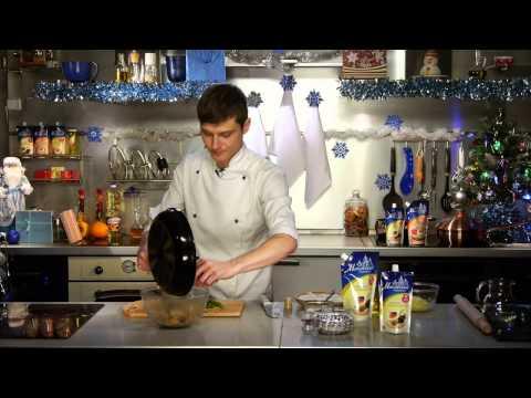 Любимые рецепты - Тарталетки с белыми грибами и луком