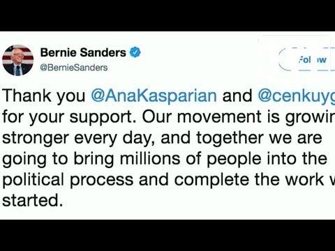 Bernie Thanks Cenk and Ana For Endorsing Him