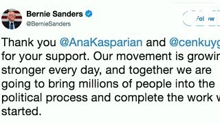 Bernie Thanks Cenk and Ana For Endorsing Him