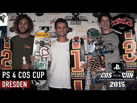 PS 4 COS Cup 2015 Dresden | Titus Skateboards