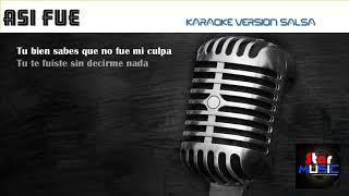 ASI FUE Karaoke SALSA