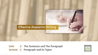 Scientific English   C1-l1   Paragraph And Its Types