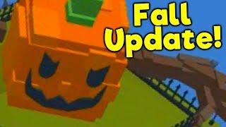 Fall Update! - ROBLOX Build a Boat