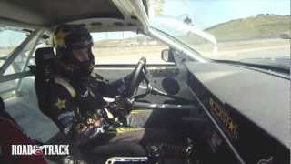 Riding with Tanner Foust in a Drift Car