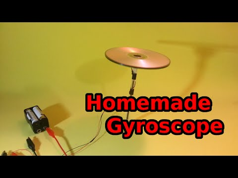 Easy to Make Gyroscope