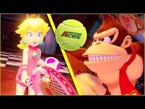 Mario Tennis Aces DOUBLES Fun Matches