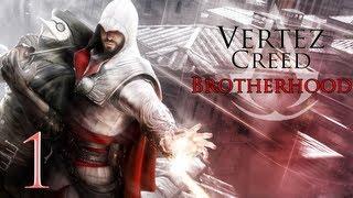Assassin's Creed Brotherhood - #1 - Atak na Monteriggioni - Vertez Let's Play / Zagrajmy w
