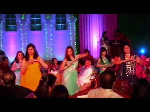 Me dancing with my friends Aaja Ve Aaja Ve by Sona Mohapatra