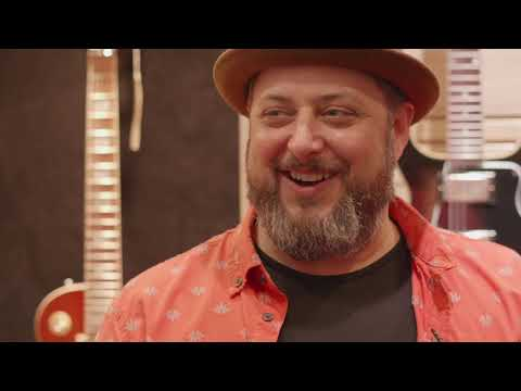 Marty Schwartz Visits The Gibson Booth At Summer NAMM 2019