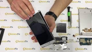 Ремонт Xiaomi Mi Max 2: замена стекла (тачскрина) дисплея - разборка - BananaFix