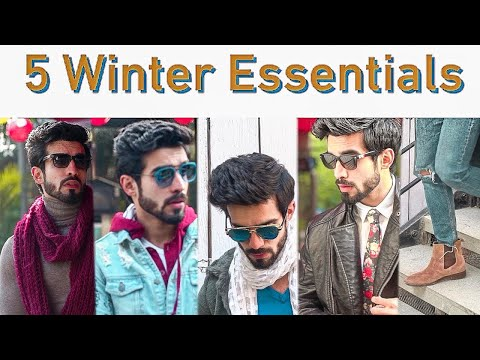5 Winter Essentials l Men's winter fashion- MUST HAVE l Indian Fashion 2018