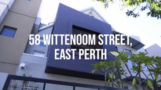 58 Wittenoom street East Perth