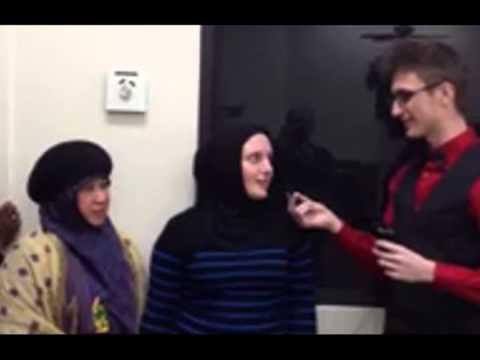 Sabrina Converts to Islam with Fatih Seferagic - December 2013