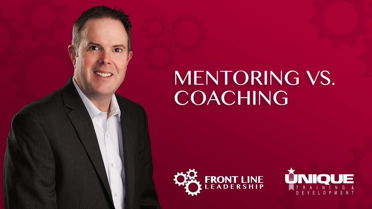 Download Mentoring vs. Coaching