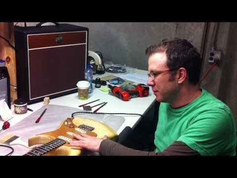 Inside AXL Guitars' USA Workshop