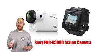 Sony FDR-X3000 Action Camera Review - Part #1 - Intro to Gear and Accessories