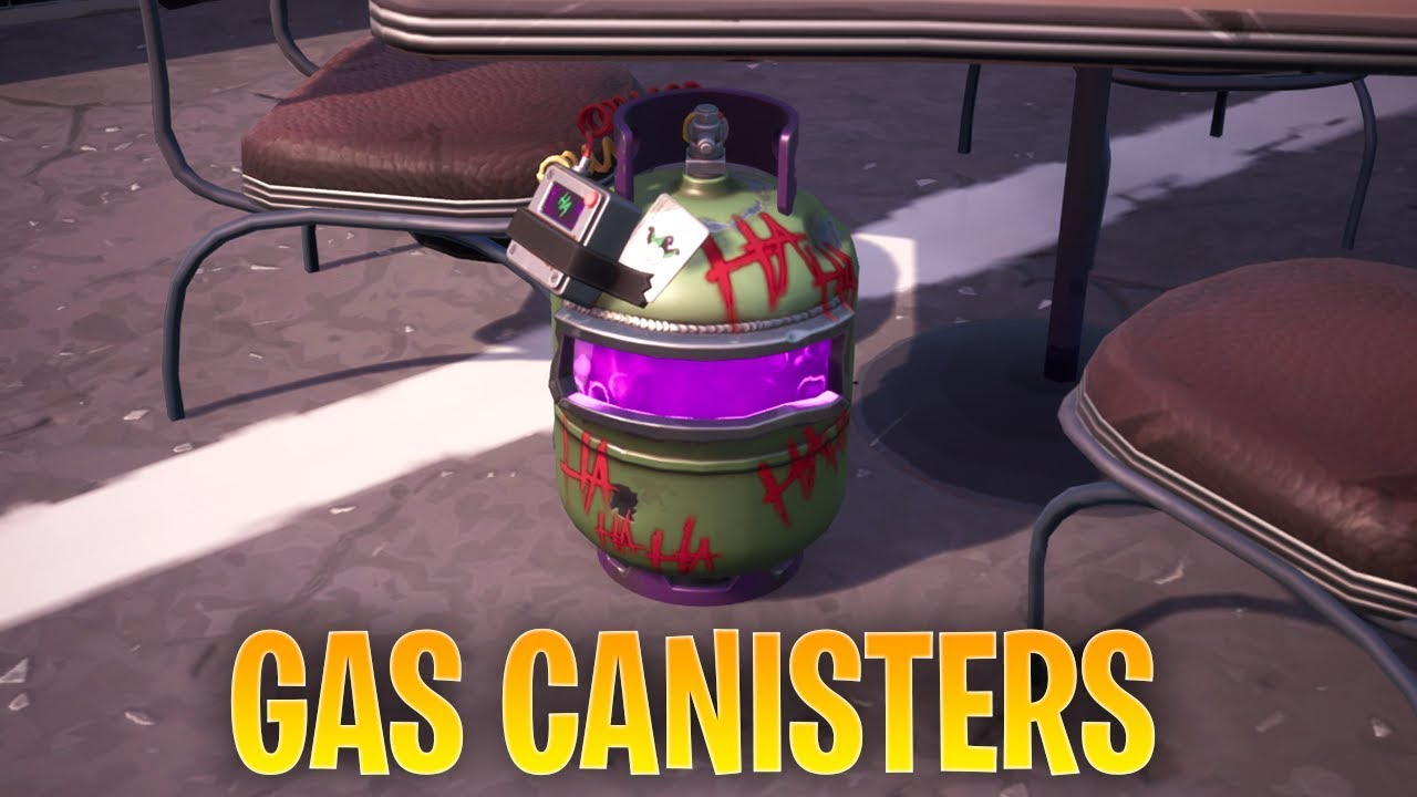 Fortnite Defuse Joker Gas Canisters Found In Different Named Locations All 3 Locations