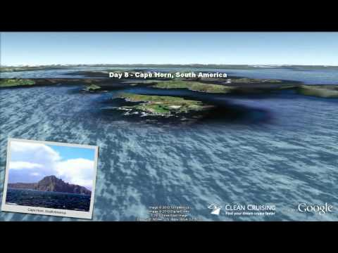 "Celebrity Infinity video ""14 nt South America Cruise"" ex Santiago"