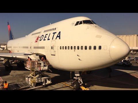 Hartsfield-Jackson Atlanta International Airport Spotting (Delta 747)