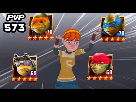 TMNT Legends PVP 573 (April O'Neil With TMNT The Movie)