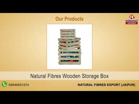Home Furnishing Products By Natural Fibres Export, Jaipur