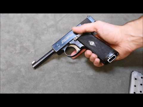 Webley 1910 Automatic Pistol׃ British Innovation - YouTube