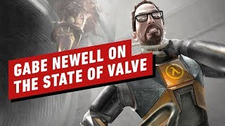 Gabe Newell Talks Half-Life: Alyx & Valve's Past and (Unexpected) Future - IGN First