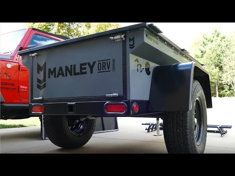 Manley ORV Expedition and Utility Trailer