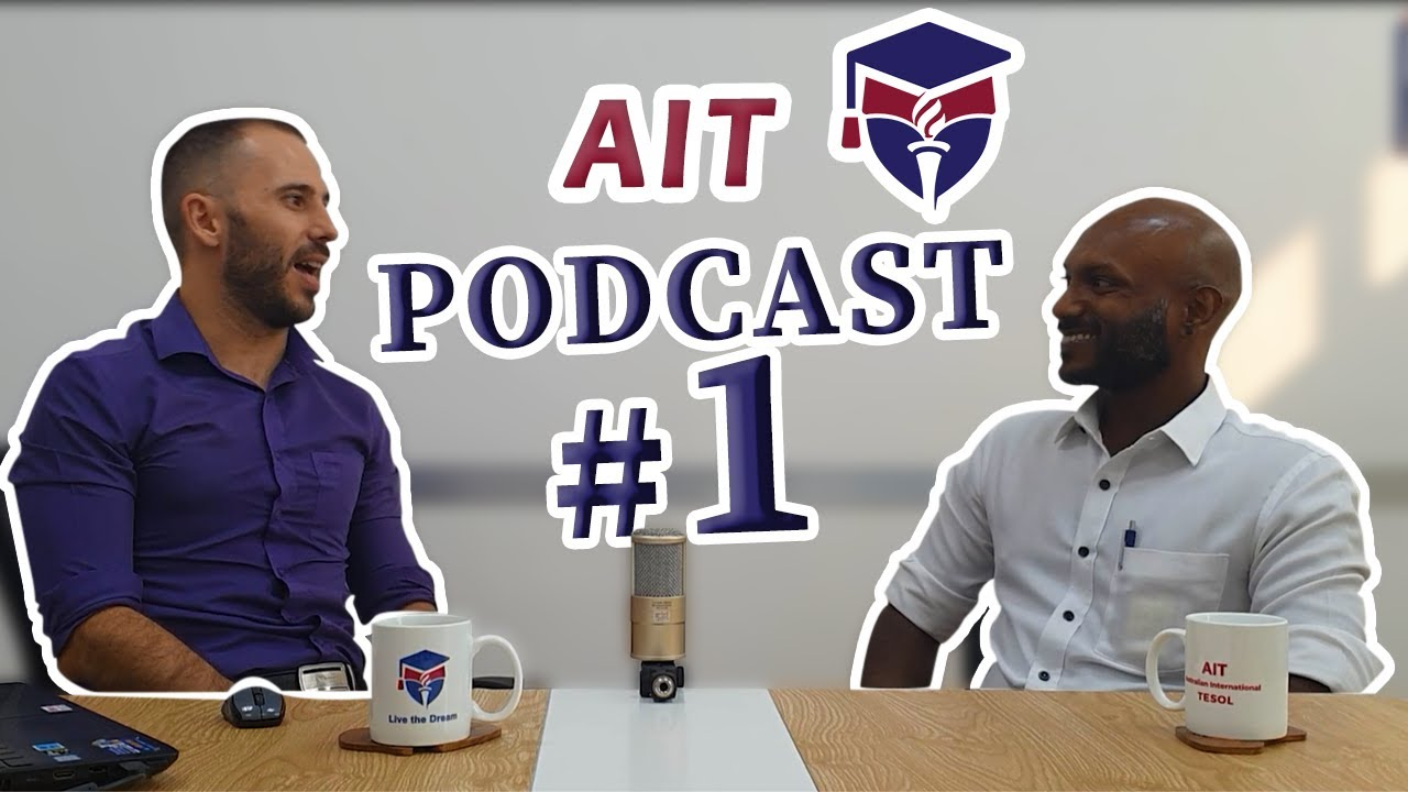AIT podcast #1: An introduction to the English teaching world of TESOL