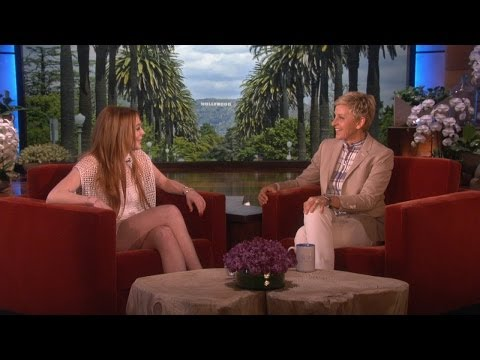 Lindsay Lohan Catches Up with Ellen