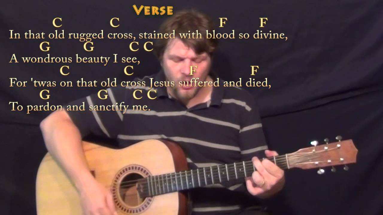 The Old Rugged Cross chords by hymn  Worship Chords