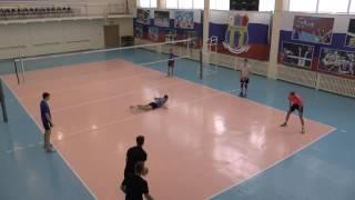 Обучение волейболу. Отработка  нападающего удара. Без сетки