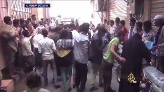 قصف لمليشيات الحوثي على تعز