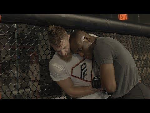 Frenemies? - Kamaru Usman & Emil Meek training together at the UFC Performance Institute