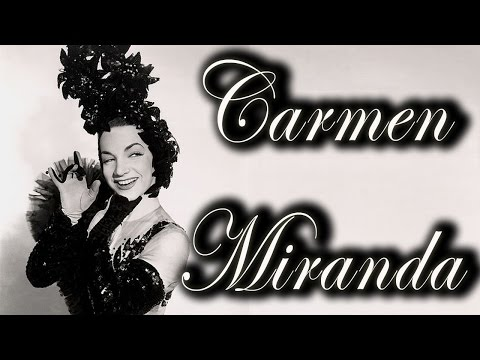 Carmen Miranda sings Amor Amor -  Chica Chica Boom Chic and others