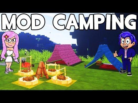 Mod de camping para minecraft by mirote y blancana watch for Blancana y mirote minecraft