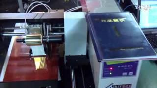 Audley  digital foil hot stamping machine ADL-3050C.flv