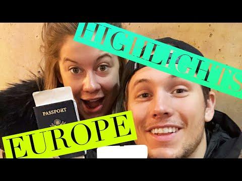 European Travel Highlight Video | Shawn Johnson + Andrew East