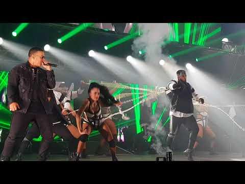 Machucando  Daddy Yankee en Mendoza 150318 Arena Maipu