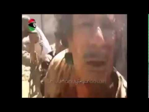 WARNING! GRAPHIC CONTENT...Hillary Clinton murders Gaddafi