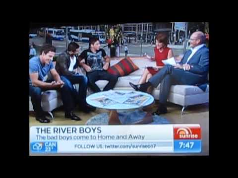 The River Boys Interview on Sunrise