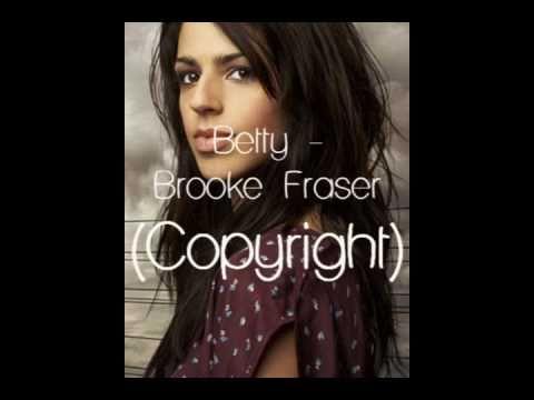 Betty - Brooke Fraser (Lyric Video)