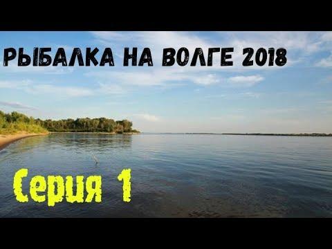 Рыбалка на Волге 2018 серия 1. Отдых дикарями: обзор лагеря, сбор ракушек, первый пойманный сом