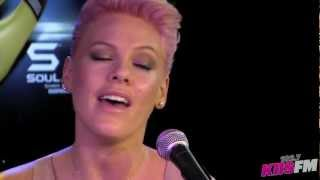 "102.7 KIISFM: Pink ""Perfect"" Live Acoustic"