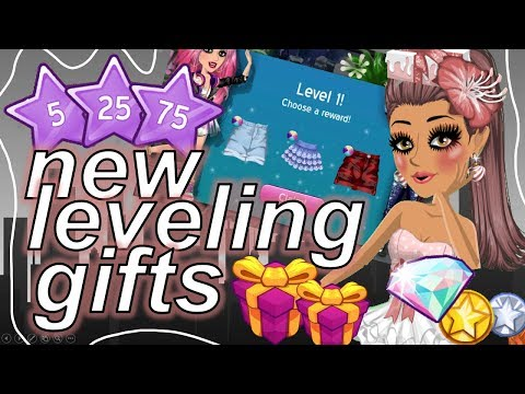 NEW MSP LEVELING GIFTS! (FREE VIP ITEMS FOR NON VIPS & DIAMOND PACK RARES)