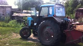 Old Good Tractor