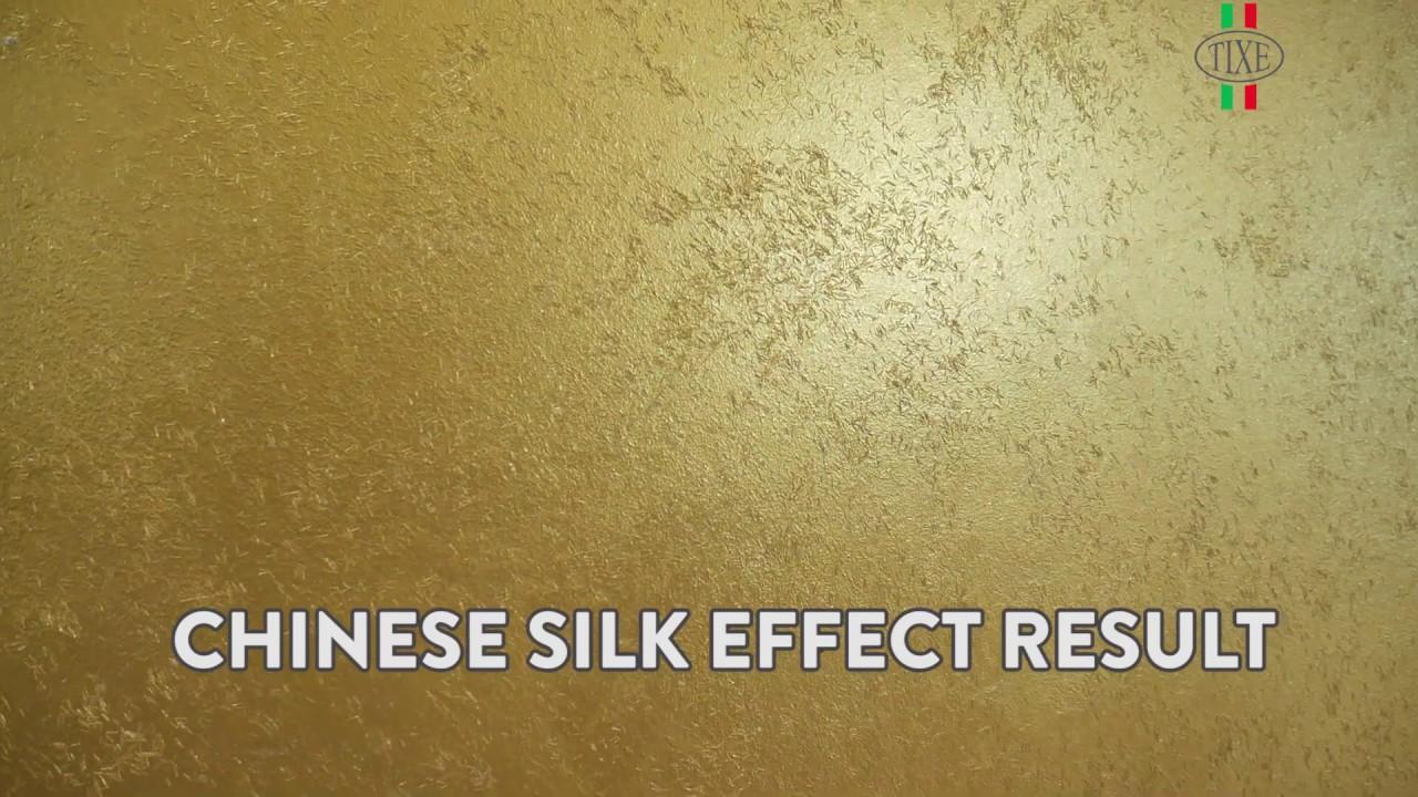 Pittura lavagna antracite 500 ml. Organza Pittura Decorativa Effetto Seta Cinese Youtube