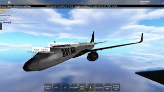 Roblox Bay Air 1 Anniversary flight Economy part 3 last