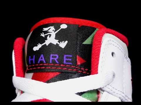 """Air Jordan 1 Mid """"Hare"""" Release Date   Price - YouTube 268d833a2a"""