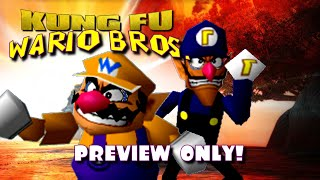Kung Fu Wario Bros. (Preview Only!) (SCRAPPED)